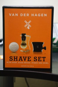 Shave set from Wal-Mart